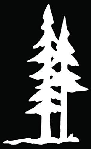 Bear Forest Mountains Car Truck Window Sticker Decal Explore Nature