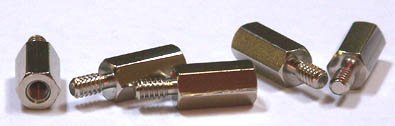 3/16 (AF) Hex Standoffs (Male / Female) / Stainless Steel / 4-40 X 7/16 / 500 Pc. Carton