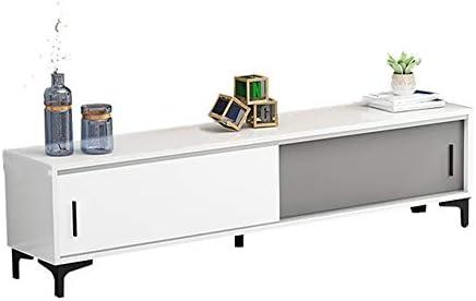 Mueble para Televisor Medios De Almacenamiento De Centro De Entretenimiento Caja De La Consola Mueble De Televisión De TV For Mantener Su Colección De Libros De Almacenamiento para Sala de Estar Ofici: