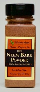 Cheap Neem Bark Powder 5 oz Shaker Bottle Fresh Cut, Slow Dried Under Shade – For Dental & Digestion & Supports Healthy Gums,Teeth Skin & Digestive Tract – For Dogs & People! America's Choice