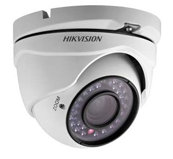 Hikvision USA DS-2CE55C2N-IRM (3.6MM) Hikvision, Analog Outdoor Turret, 720Tvl, Pacidis, 3.6Mm, Day/Night, Ir to 20M, 12Vdc by Hikvision