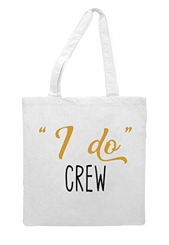 Party Bag Engagement Tote Do I Wedding White Gift Crew Shopper wqwT0nI