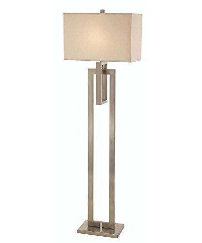 Trend Lighting TF7305 Precision Floor Lamp, Brushed Nickel