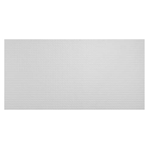 Genesis 2ft x 4ft Classic Pro Ceiling Tiles - Easy Drop-In Installation - Waterproof, Washable and Fire-rated - High-Grade PVC to Prevent Breakage (One Tile)
