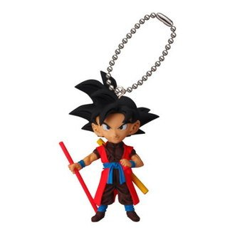 Amazon.com: Dragon Ball Z Dbz Goku figura de Xeno llavero ...