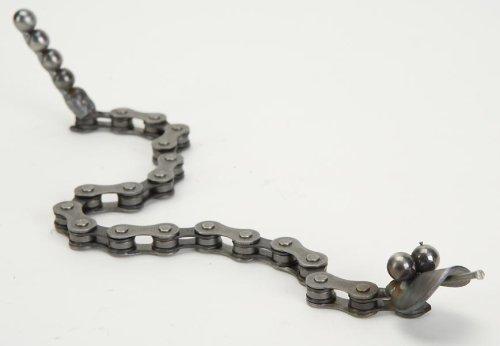 Whimsical Baby Rattle Snake By Richard Kolb USA Made Repurposed (Yardbirds Junkyard Dogs And Cats)
