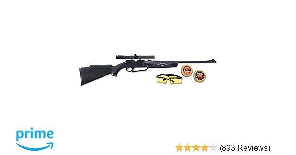 Amazon com : 880 Powerline Air Rifle Kit, Dark Brown/Black