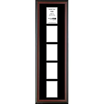 Amazon.com - Creative Letter Art 5 Opening Vertical Mahogany Picture ...