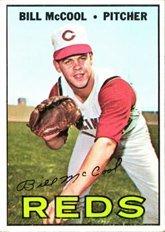 1967 Topps Regular (Baseball) Card# 353 Bill McCool of the Cincinnati Reds Ex Condition ()