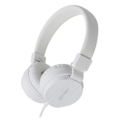 xxiaoTHAWxe Fashion Deep Bass Headphone 3.5mm Wired Foldable Portable Gaming Music Headset White from THAWxe