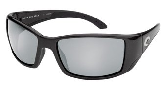 Costa Blackfin Sunglass Matte Black,Silver Mirror - Blackfin Costa