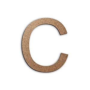 Letter C 15cm x 15cm - MDF wood