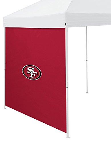 Logo Brands NFL San Francisco 49ers Side Panel, One Size, Cardinal