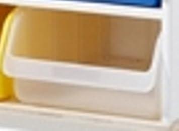 Lampert Caja de plástico Grande - Transparente - para Cómoda Las Familias Garage Cambiador o Grandes - Richard Muebles: Amazon.es: Hogar