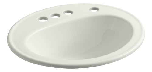 Kohler K-2196-4K-NY Pennington Self-Rimming Bathroom Sink...