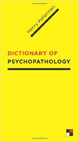 Book The Dictionary of Psychopathology by Henry Kellerman (2009-03-13)