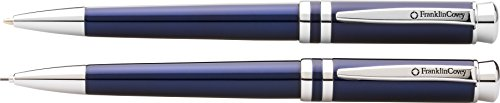 Franklin Covey Freemont Translucent Royal Blue Ballpoint Pen & 0.9mm Pencil in Gift Box (FC0031-4) ()