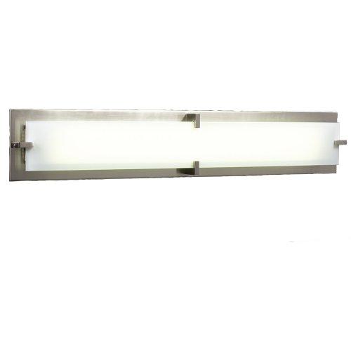 PLC Lighting 816 SN 2 Light Vanity, Polipo-T5 Collection, Satin Nickel ()