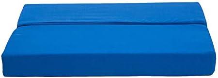 エクササイズバランスフォームパッド、取り外し可能なカバー付きヨガフォールディングショルダーパッド、正方形の逆立ち補助枕、ストレッチ、ピラティス、理学療法、コアトレーナーボード