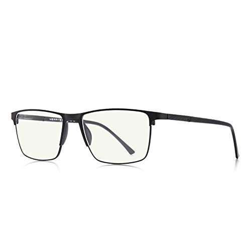 MERRY'S Fashion Blue Light Blocking Glasses - Reading Glasses Metal Frame Spring Hinge Readers for Men Eyeglasses