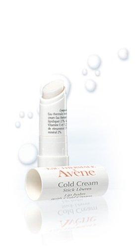 Avène Cold Cream Baume à lèvres, 0,14 onces Tube