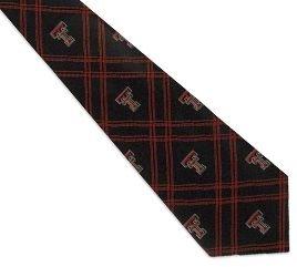 Texas Tech Tie - Texas Tech Red Raiders Necktie - Polyester Tie