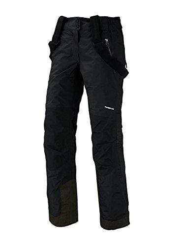Trango Huaca - Pantalón largo para mujer, color negro