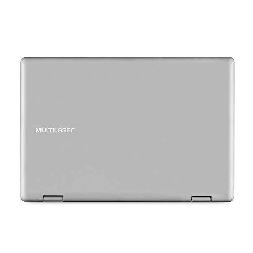 Notebook M11W Prime 2 Em 1 11,6Pol. Pentium 4Gb Ram 64Gb Win10 Prata - PC301