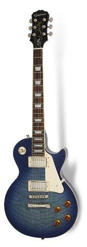 - Epiphone Limited Edition Les Paul Quilt Top PRO Electric Guitar Translucent Blue