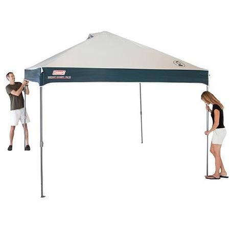 Straight Leg 10' x 10' Instant Rectangle Canopy/Gazebo (100 sq. ft Coverage)