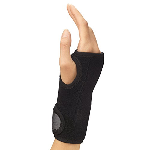 Champion Wrist Support, Universal Fit, Removable Splint, 2-Strap, Airmesh Fabric, Black, -