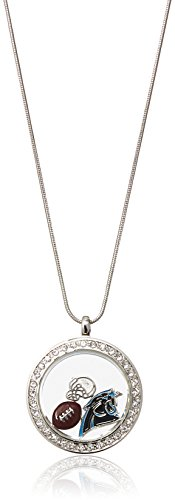 Carolina Panthers Nfl Starter (NFL Carolina Panthers Womens Locket Necklace, Metal, 18