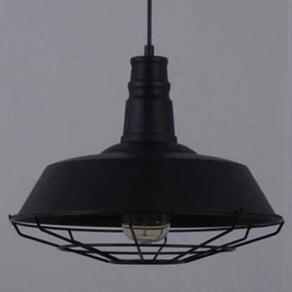 Industrial Dome Pendant Light - 8