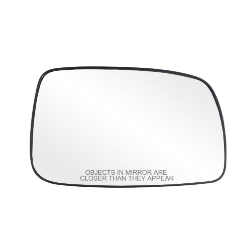 Fit System 30205 Toyota Camry Sedan Right Side Heated Power Replacement Mirror Glass with Backing - Mirror Camry Toyota Right