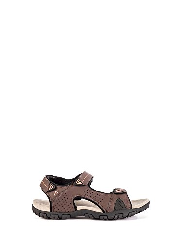 Sandalo R93 Uomo Lumberjack Velcro 002 Brown SM43006 qUOxZExt
