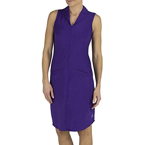 Jofit Womens Athletic Clothing Sleeveless Golf and Tennis Dress with Built-in Undershorts