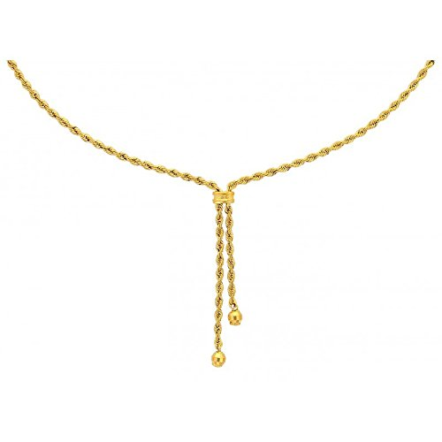 collier corde or 18 carat 750eme