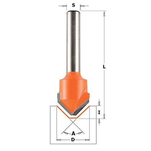 Grigio//Arancio CMT 906.227.11 Fresa para RIFILARE con rodamiento Gris//Naranja