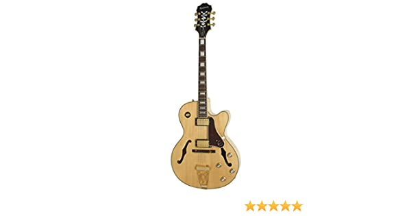 Epiphone Joe Pass Emperor-II PRO - Guitarra eléctrica, color natural: Amazon.es: Instrumentos musicales