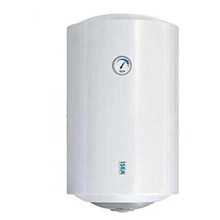 Calentador de agua eléctrico 80 Isea Lt 2 años de garantía, calentadores eléctricos de agua: Amazon.es: Bricolaje y herramientas