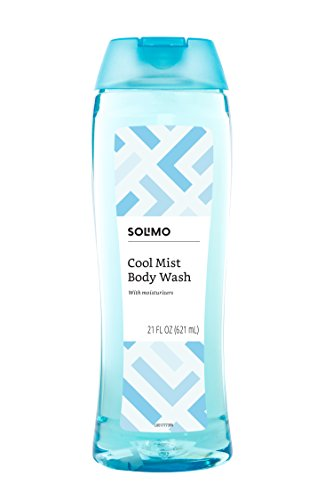(Amazon Brand - Solimo Body Wash, Cool Mist Scent, 21 Fl. Oz (Pack of 1))