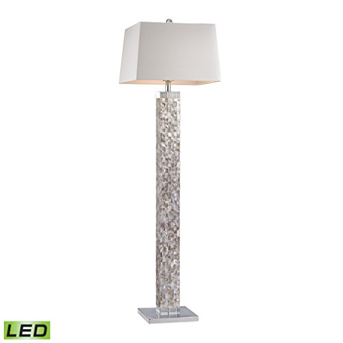 Diamond Lighting D2896-LED Floor lamp, Mother of Pearl Shell