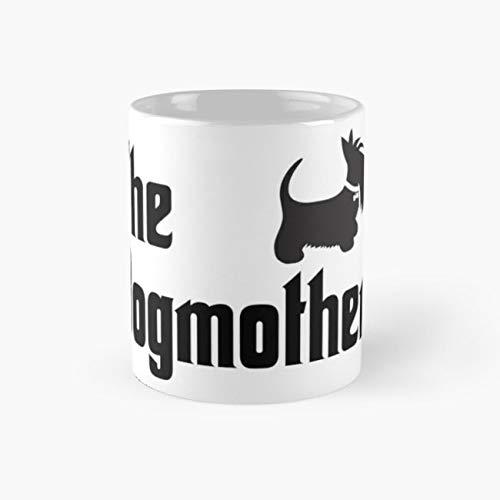 The Dogmother Copyright BonniePortraits on Redbubble.com Mug, the dogmother Cup, 11 Ounce Ceramic Mug, Perfect Novelty Gift Mug, Funny Gift Mugs, Funny Coffee Mug 11oz, Tea Cups 11oz -