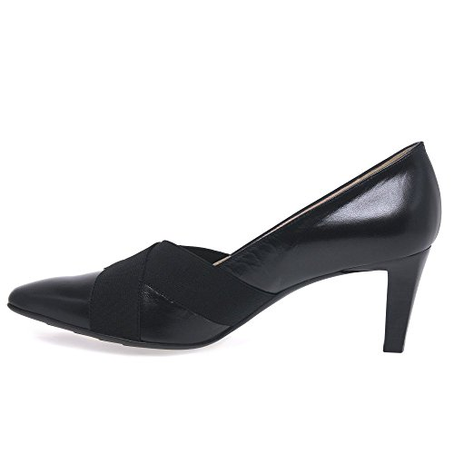 Chaussures Couvert Femme à Malana Talons Peter Noir Pieds Avant du Kaiser Zz48wxE