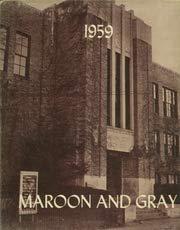 (Custom Reprint) Yearbook: 1959 Union City High School - Maroon and Gray Yearbook (Union City, MI) (Union City High School Union City Mi)