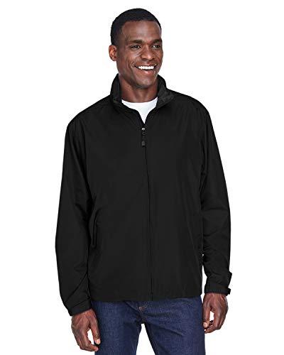 North End 88083 Men's Techno Lite Jacket - Black 703 - 4X-Large