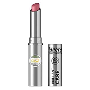 lavera Rouge à lèvres Beautiful Lips – Brilliant Care Lipstick Q10-03- Lipstick ∙ Soins intensifs Cosmétiques naturels Make up Ingrédients végétaux bio 100% Naturel Maquillage (1.7 g)