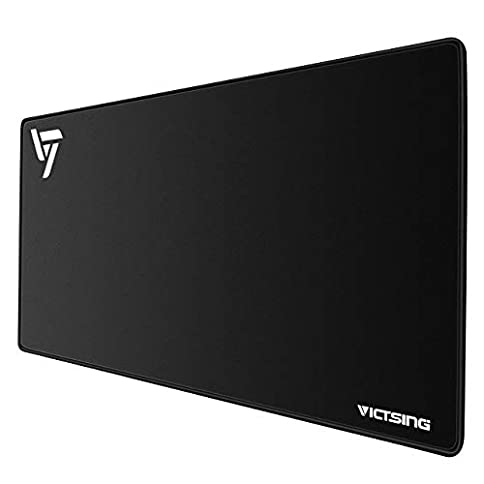 - 31p2jesx3JL - VicTsing Extended Gaming Mouse Pad, Thick Large (31.5×15.75×0.12 Inch) Computer Keyboard Mousepad Mouse Mat, Water-Resistant, Non-Slip Base, Durable Stitched Edges, Ideal For Both Gaming