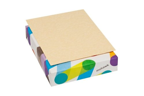 Mohawk Skytone Vellum Parchment Paper, 60 text 8.5 x 11 Inches, 500 Sheets/Ream - Sold as 1 Ream, New Champagne Shade (70100400)