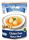 Yehudah Gluten Free Matzo Meal, 15 Oz Canister (Case of 12) [Misc.]